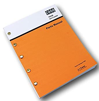 parts manual for case 1845b
