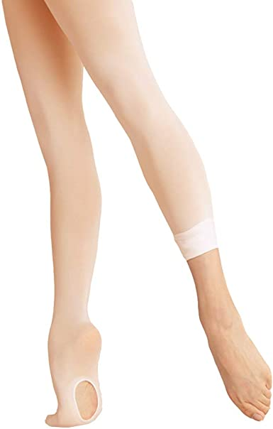 1 Pair Ballet Tights Full Footed//Convertible Soft Thick for Girls Women