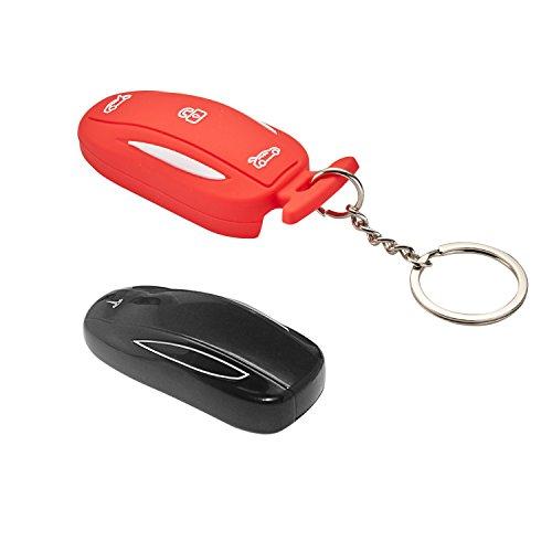 LiFan Tesila model S SiliconeBlack 1 Pack for Tesla Model S Remote Key Black lfotpp Silicone Car Key Cover