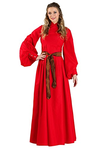 Halloween The Bride Princess Costumes (Princess Bride Buttercup Red Dress Costume)