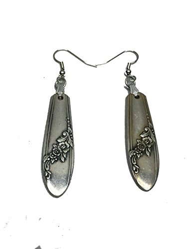 Spoon Earrings 1946 Oneida Queen Bess II