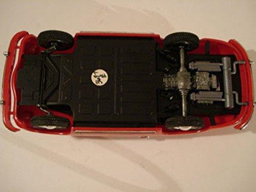 (Tomica (Japan) Red Porsche 356A Speedster Pro-Built Plastic Kit 1:32)
