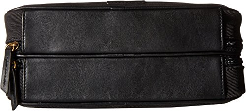 Fossil Double Zip Shave Kit, Black, One Size