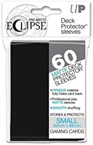 60 Bustine Protettive Mini Size Sleeves Ultra PRO ECLIPSE Matte • Blu Blue