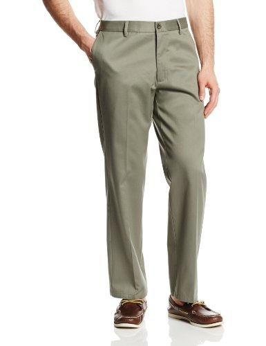 Dockers Men's Signature Khaki D1 Slim Fit Flat Front Pant