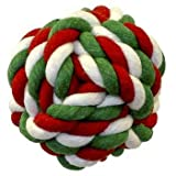 Blue Ribbon Pet Products DBLDTR26 Rope Ball, 2.5-Inch, My Pet Supplies