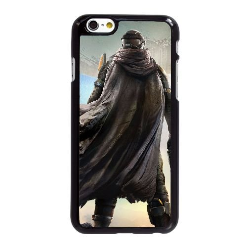 V2E37 jeu de destin K5T2MR coque iPhone 6 4.7 pouces cas de couverture de téléphone portable coque noire RT7FRO1YZ