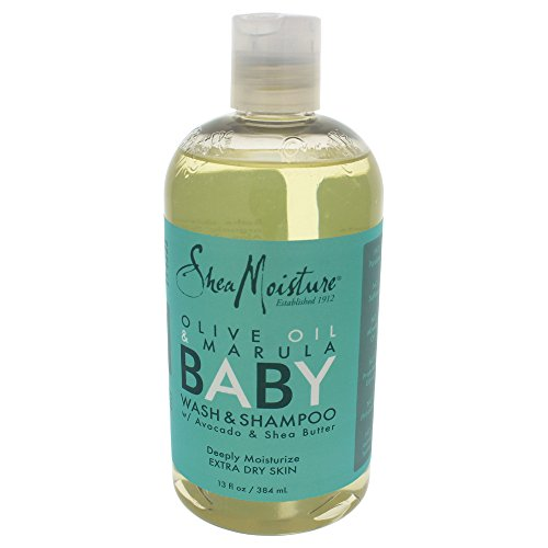 Shea Moisture - Olive & Marula Baby Head-to-Toe Wash & Shampoo with Avocado & Shea Butter - 13 oz.
