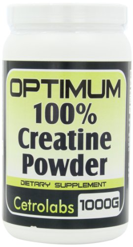 Complete Creatine Monohydrate Powder. The Optimum 100% Gold Standard For Nutrition Support. (1000 Grams)