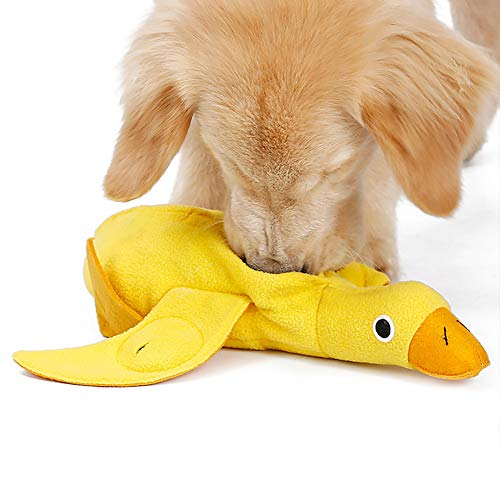 Livelynine Washable Snuffle Mat for Dogs Small Medium for Dog Birthday Toy Duck Dog Toy Interactive Dog Puzzle Toys for…