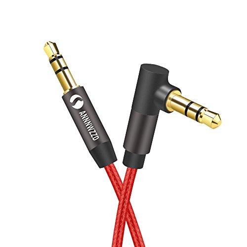 LinkinPerk Aux-Kabel, 3,5-mm-Kfz-Stereo-Audiokabel für iPod, iPhone, iPad, auch geeignet für Audiogeräte zu Hause