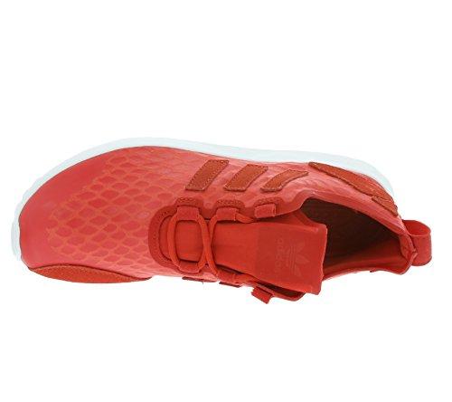 adidas Damen ZX Flux ADV Verve Schuhe lush red-lush red-core white (AQ6252)