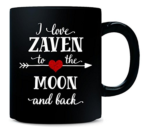 I Love Zaven To The Moon And Back.gift For Girlfriend - Mug from Inked Creatively