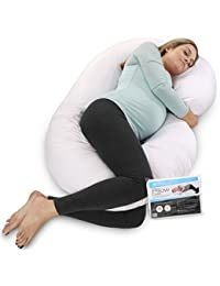PharMeDoc Pregnancy Pillow With Extra Cover, C-Shaped Body Pillow BOBEBE Online Baby Store From New York to Miami and Los Angeles
