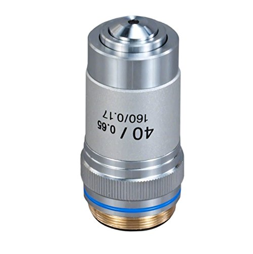 OMAX 40X (spring) Achromatic Objective Lens for Compound Microscopes by OMAX