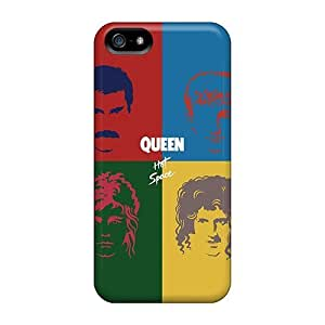 Fashionable NCr237iMWw Iphone 5/5s Cases Covers For Queen Hot Space Protective Cases