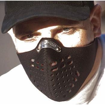 Respro Metro - Máscara antipolución (talla M, filtro de carbono activo), color