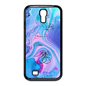 wugdiy Custom Hard Plastic Back Case Cover for SamSung Galaxy S4 I9500 with Unique Design One Direction Signature