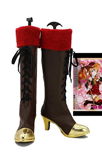 Hou Van Het Leven! Hou Van Live Happy Valentines Day! Kousaka Honoka Cosplay Schoenen Laarzen Op Maat Gemaakt