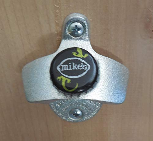 Mike's Hard Lemonade Cap Starr X Wall Mount Bottle Opener Salamander Cap