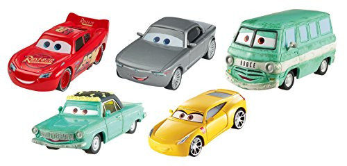 Disney Pixar Cars 3 Diecast Collection Vehicles, 5-Pack Bundle -