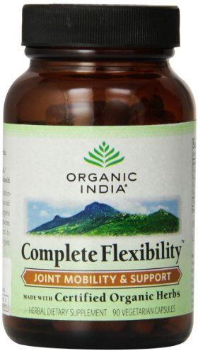 Organic India Complete Flexibility - Joint Pain Formula (90 Veg Caps) by ORGANIC INDIA