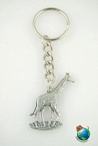 (PP Giraffe Keychain Pewter)