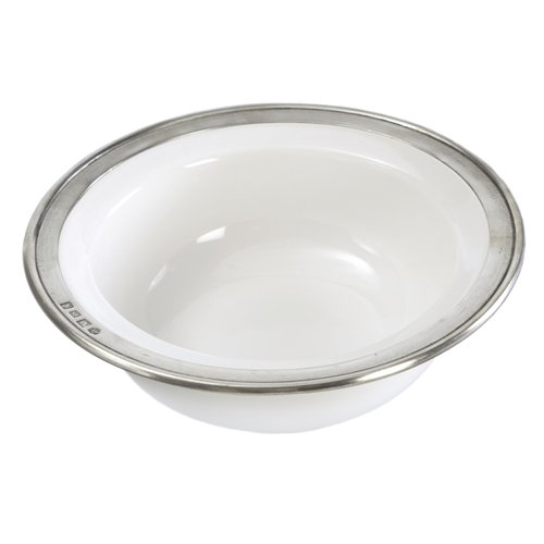 Convivio Cereal Bowl by Match Pewter, White