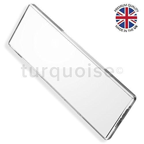 Acrílico transparente de calidad premium en blanco imanes de ...