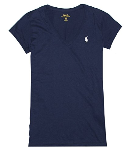 RALPH LAUREN Sport Women's Lightweight V-Neck T-Shirt