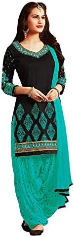 PANASH TRENDS Women's Cotton & Rayon Patiyala Suit