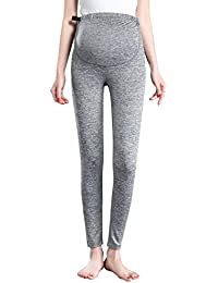 e78d337f9684c Women's Over The Belly Super Soft Support Maternity Leggings