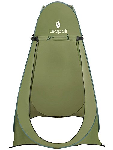 Leapair Shower Pop-up Tent with Bag, Green