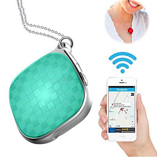 Mini GPS Trackers Locator for Pets Cats Dogs Kids Children Vehicle with  Google Maps GSM GPRS Tracker 38 5X38 5X17mm Green