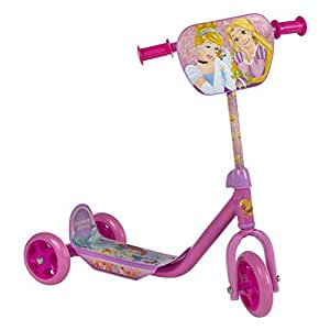 ColorBaby - Patinete 3 ruedas, princesas de disney (42794)