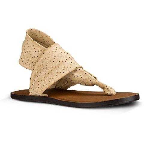 Womens Caqui Sanuk Devine Sandal Footwear Yoga Claro dwwqXZH