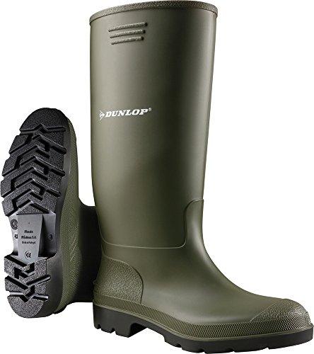 Dunlop lavoro Stivali PVC verde taglia 42