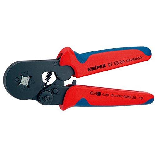 KNIPEX(クニペックス)9753-04 ワイヤーエンドスリーブ圧着ペンチ (SB) スポーツ レジャー DIY 工具 ペンチ 圧着ペンチ top1-ds-1850534-ak [簡易パッケージ品] B06ZZVB4DS