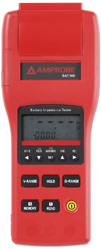 Battery Impedance Tester : Amprobe bat battery impedance tester v