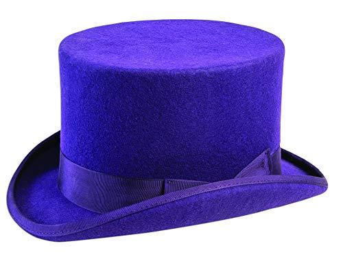 Forum Novelties Unisex-Adults Super Dlx Top Hat, Purple, Standard