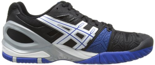 Asics Gel-resolution 5 - Zapatillas de estar por casa Hombre Black/White/Blue 9001