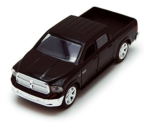(Jada Toys 2013 Dodge Ram 1500 Pickup Truck Collectible Diecast Model Car Black)