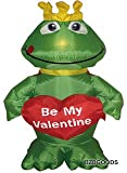 "4 Foot Inflatable Frog with Heart ""Be My Valentine"" - romantic Valentines Gifts for Couples, Cute Valentines Day Gift Ideas, Good Couple Gifts for Valentines, Romantic Anniversary Gifts"