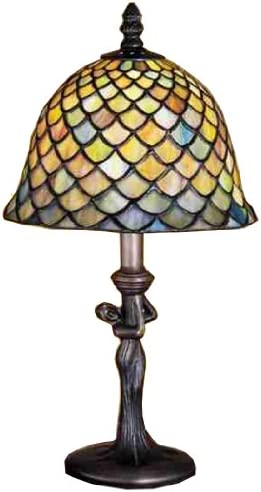 JONATHAN Y JYL8009A Lee Style 62 LED Floor Lamp, Tiffany, Traditional for Bedroom, Living Room, Bronze