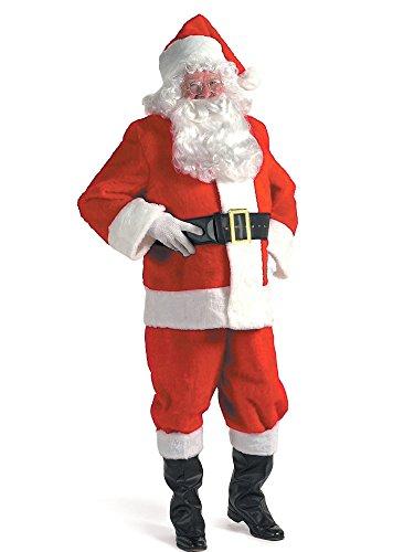 Halco - Kris Kringle Suit 3X Costume - Kris Kringle Costumes