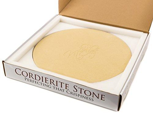 Kit-Chef 14-Inch x 3/4-Inch Round Cordierite Pizza Stone