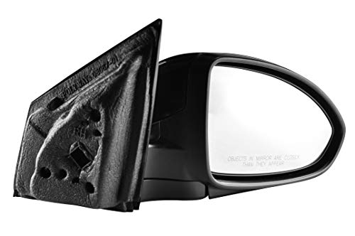 Passenger Side Unpainted Side View Mirror for 2011-2015 Chevrolet Cruze, 2016 Chevrolet Cruze Limited
