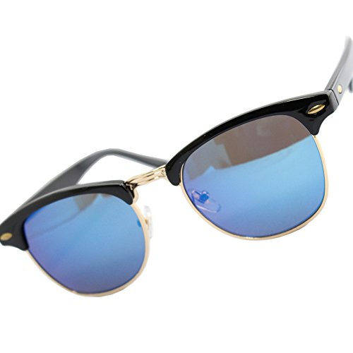 Eight Tokyo Japan Quality Clubmaster Mirror Sunglasses UV protection - Clubmaster Model