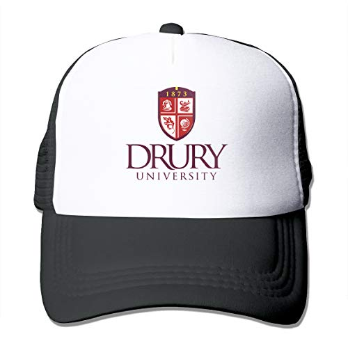 OAIDsO8IS1 Drury University-2005 Ã- 1815 Fashion Grid Cap for Mens and Womens Black ()