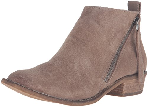 - Dolce Vita Women's Sibil Ankle Bootie, Dark Taupe Suede, 7 M US